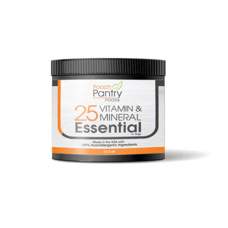 Vitamin And Mineral Supplement For Homemade Dog Food