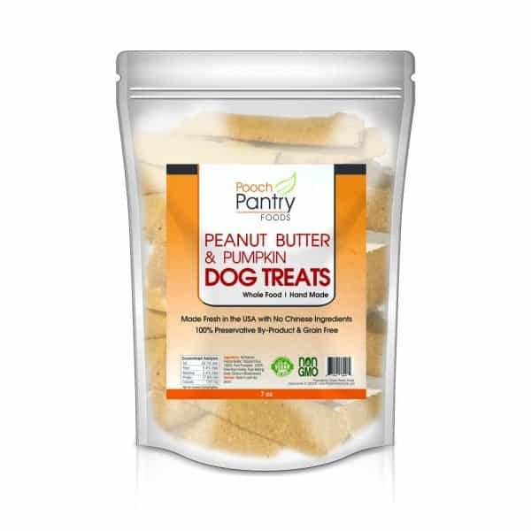Peanut Butter & Pumpkin - Human Grade, Whole Food Dog and Pet Treats 1