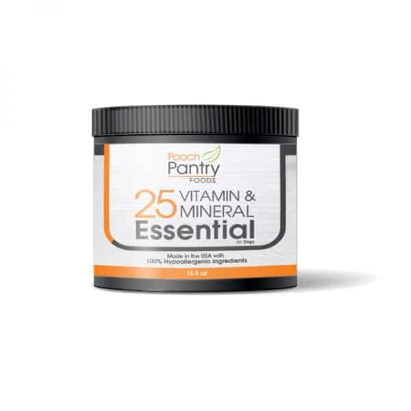 25 Vitamin Mineral Essential Hypoallergenic Ingredients For Dogs 1
